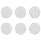 Ce jeu de petits filtres (grilles) normaux se compose de 6 filtres convenant aux Crafty, aux Mighty et aux adaptateurs à capsules de dosage