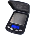 La Champion de On Balance est une balance de poche qui peut peser jusqu'à 500 g avec une précision à 0,1 g près